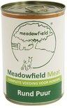 12x meadowfield meat blik rund puur