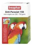 Beaphar anti-parasiet 150  vogel (300-750gr)
