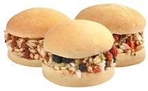 Lolo pets hamburger knaagdier met noot / groente / fruit