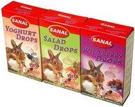 Sanal knaagdier 3-pack drops yogurt/salad/wild berry