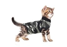 Suitical recovery suit kat zwart camouflage