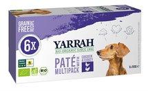 Yarrah dog alu pate multipack chicken / turkey