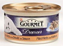 24x gourmet diamant mini filets met kalkoen