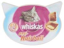 8x whiskas snack hairball