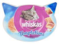 8x whiskas snack temptations zalm