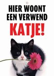 Waakbord nederlands kunststof verwend katje