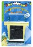 Happy pet fun at the fair big mirror perch