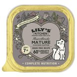 Lily's kitchen cat marvelously mature chicken supper