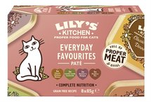 Lily's kitchen cat everyday favourites multipack