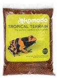 Komodo tropical terrain
