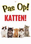 Waakbord nederlands kunststof katten