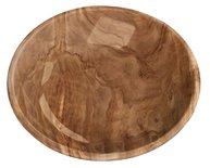 Tarhong voerbak kat olive melamine houtprint