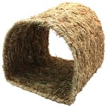 Happy pet grassy tunnel