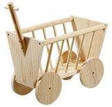 Karlie wonderland houten bolderwagen