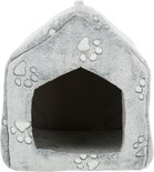 Trixie hondenmand / kattenmand huis nando lichtgrijs