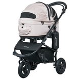 Airbuggy hondenbuggy dome2 m met rem sand beige
