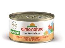 24x almo nature cat tonijn/garnalen