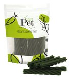 Veggie pet green tea dental twist