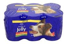 Blik hond in jelly assorti