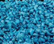 Aqua-della glamour steen indian blauw