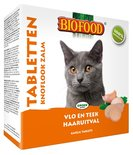 Biofood kattensnoepjes bij vlo zalm
