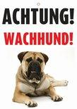 Waakbord nederlands kunststof waakhond