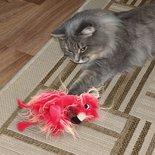 Kong kat softies frizz bird assorti