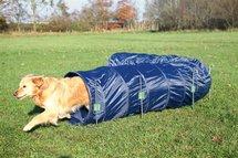 Trixie dog activity agility basis tunnel blauw