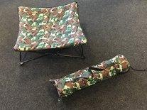 Akp hondenstretcher camouflage groen