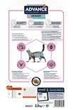 Advance veterinary cat urinary sterilized low calory