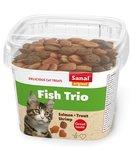 Sanal cat fish trio snacks cup