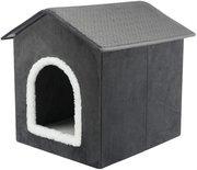Trixie hondenmand / kattenmand huis livia grijs / wit