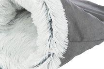 Trixie relax slaapzak harvey grijs / wit