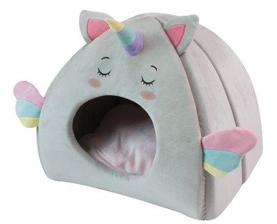 Croci kattenmand iglo fluffy unicorn