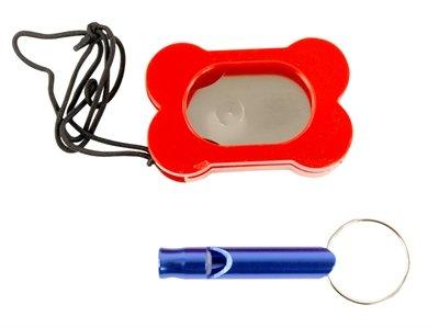 Set clicker en hondenfluit assorti