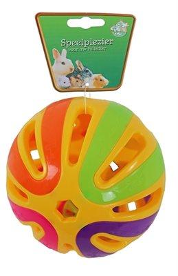 Plastic knaagdierbal+ bel