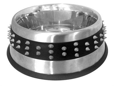 Croci voerbak staal studs rubber