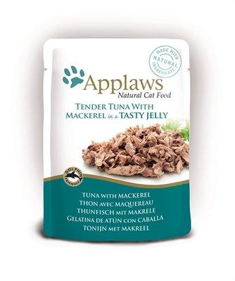 16x applaws cat jelly tuna wholemeat / mackerel