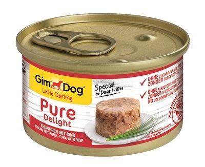 12x gimdog little darling pure delight tonijn / rund