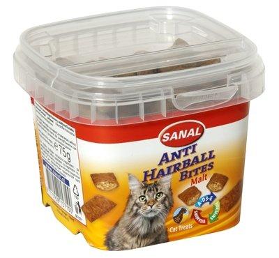 Sanal cat hairball bites cup