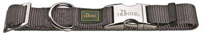 Hunter halsband vario basic alu-strong grijs