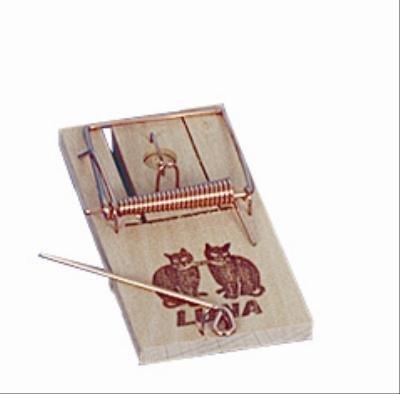 Luna houten muizenval kaart