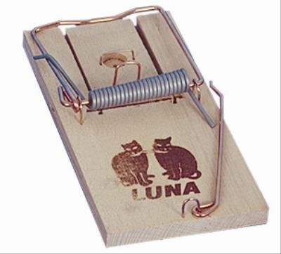 Luna houten rattenval