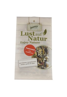 Bunny nature power snack met meelwormen