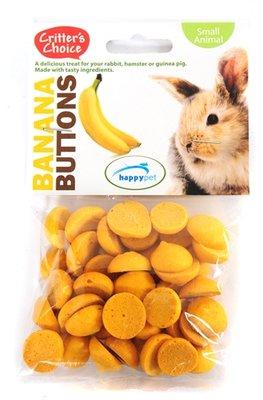 Critter's choice banana buttons