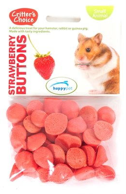 Critter's choice strawberry buttons