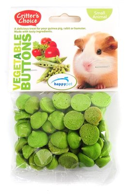 Critter's choice vegetable buttons