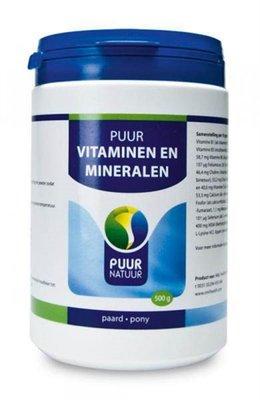 Puur natuur vita-min (vitaminen en mineralen) voor paard en pony