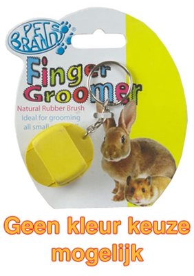 Petbrands small animal finger groomer