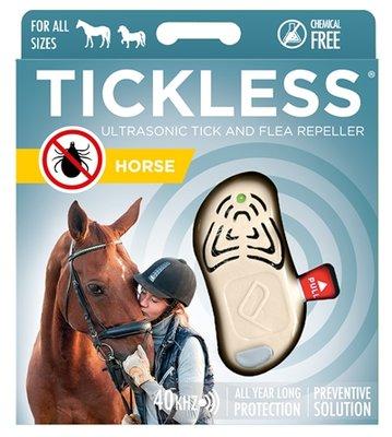 Tickless teek en vlo afweer voor paard beige